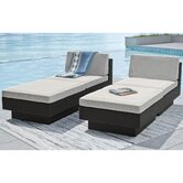 dCOR design Patio Chaise Lounges