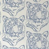 "Journey 15' x 27"" Star-Tiger Wallpaper (Set of 2)"