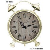 Cheungs Rattan Mantel & Tabletop Clocks