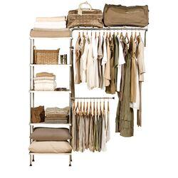 Conquer Chaos: Closet Storage