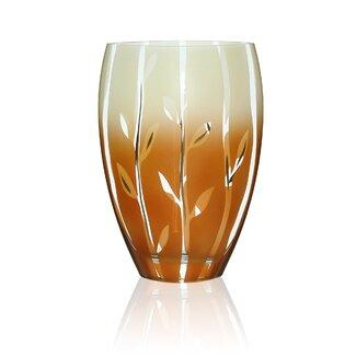 womar glass fung shway vase wayfair. Black Bedroom Furniture Sets. Home Design Ideas