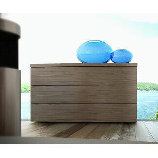 K Kitchens Ludlow Modern Modloft Ludlow 3 Drawer Dresser   AllModern