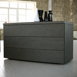 K Kitchens Ludlow Modloft Ludlow 3 Drawer Dresser   Wayfair