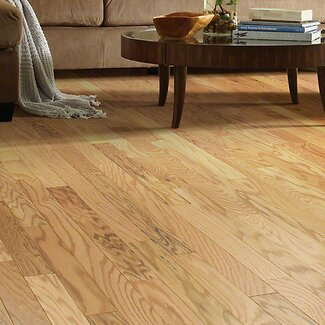 Modern shaw floors gazebo 3 1 2 engineered red oak for Rustic red oak flooring