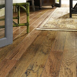 Modern Shaw Floors Rosedown 5 Quot Engineered Hickory Hardwood