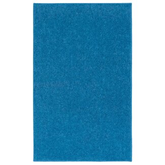 Modern nance industries ourspace bright royal sky blue for Bright blue area rug