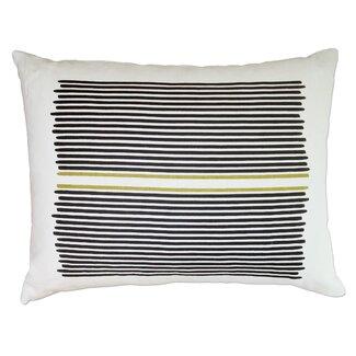 <strong>Balanced Design</strong> Louis Stripe Linen Lumbar Pillow