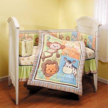 Monkey Jungle 4 Piece Crib Bedding Set Wayfair