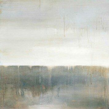September Fog Descending By Ross Painting Print On Wrapped