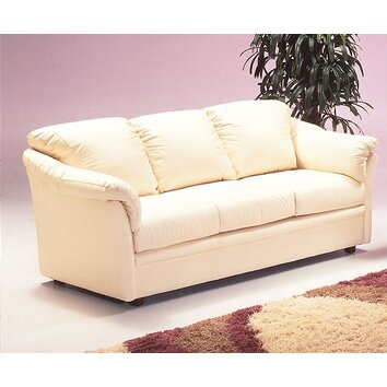 Salerno leather sofa wayfair for Sofa 3 cuerpos salerno