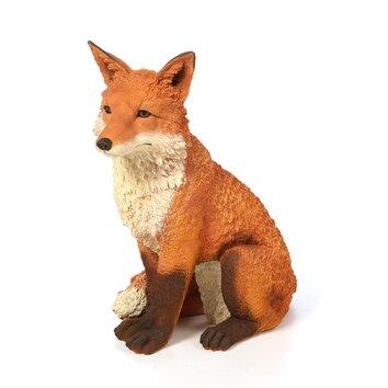 ... Fox Garden Statue By Simon The Fox Garden Statue Wayfair ...