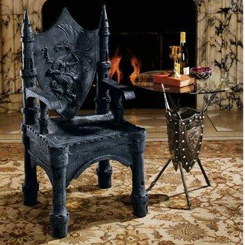 The Dragon Of Upminster Castle Throne Arm Chair Wayfair