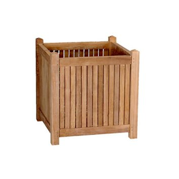 Anderson square planter box wayfair for Wayfair garden box