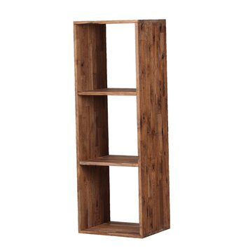 Moe S Home Collection Mountain Teak 48 8 Quot Bookcase Allmodern