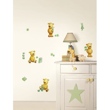 bathrooms for kids fun4walls teddy wall decal wayfair 11988