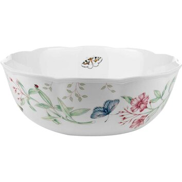 Lenox Butterfly Meadow Serving Bowl Amp Reviews Wayfair