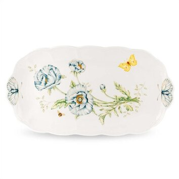 Butterfly Meadow Oblong Serving Tray Wayfair