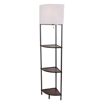 58 8 floor lamp wayfair. Black Bedroom Furniture Sets. Home Design Ideas