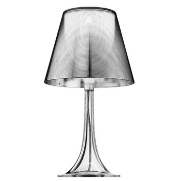 Flos miss k 17quot h table lamp with empire shade allmodern for Miss k table lamp replacement shade
