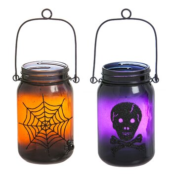 Evergreen Enterprises, Inc Something Spooky Glass Mason Jar