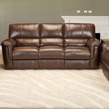 Parker House Hitchcock Dual Leather Power Reclining Sofa