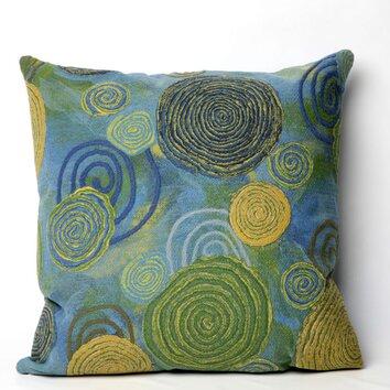 Liora Manne Graffiti Swirl IndoorOutdoor Throw Pillow