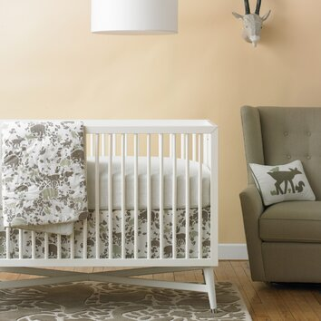 dwellstudio woodland tumble nursery bedding collection dwellstudio