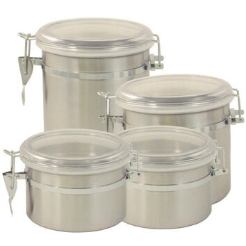 how to organize the kitchen cabinets 4 stainless steel container set joss amp 17167