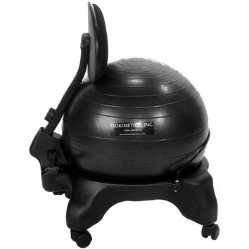 Adjustable Back Exercise Ball Chair Wayfair