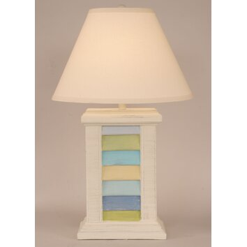 Coastal Living Rectangle Shutter Pot 29 5 Quot H Table Lamp