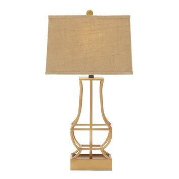 Woodland Imports 30 Table Lamp With Drum Shade Wayfair