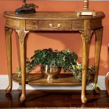 Butler Vintage Oak Console Table Amp Reviews Wayfair