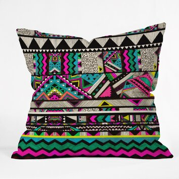 Tate Modern Neck Pillow : DENY Designs Kris Tate Throw Pillow AllModern