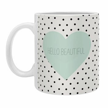 Allyson johnson hello beautiful heart coffee mug 17939 mugsma