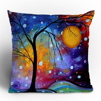 madart inc winter sparkle throw pillow wayfair 13095 | custom image