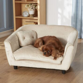 Enchanted Home Pet Ultra Plush Large Astro Dog Sofa
