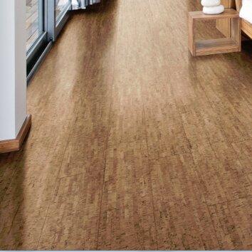 Corkcomfort 5 1 2 engineered cork hardwood flooring in for Engineered cork flooring