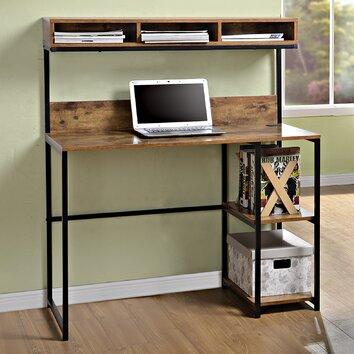 Homestar Computer Desk With Hutch Amp Reviews Wayfair