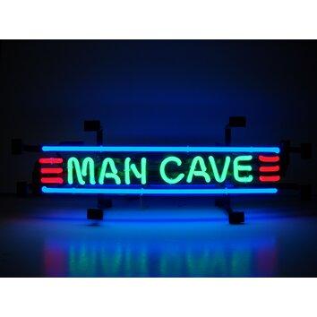 cave neon sign neonetics wayfair walmart