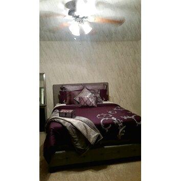 Zipcode Design Casey Upholstered Platform Bed Amp Reviews