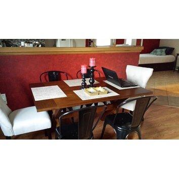 Dorel Living Trestle Dining Table Allmodern