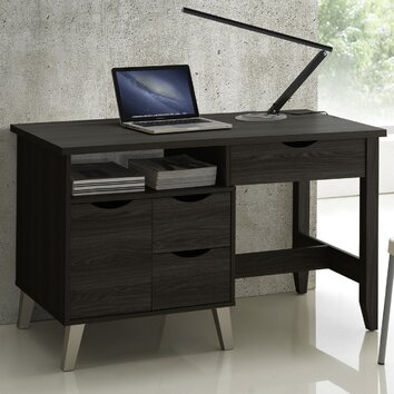Wholesale Interiors Home Office 3 Drawer Writing Desk