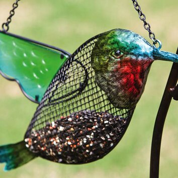Hummingbird Decorative Bird Feeder Wayfair