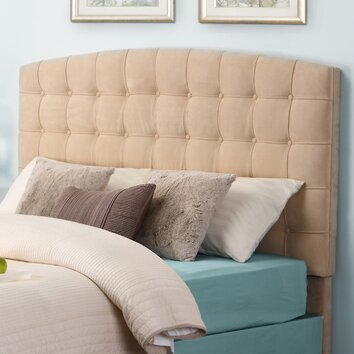 image of a living room upholstered headboard wayfair 23138