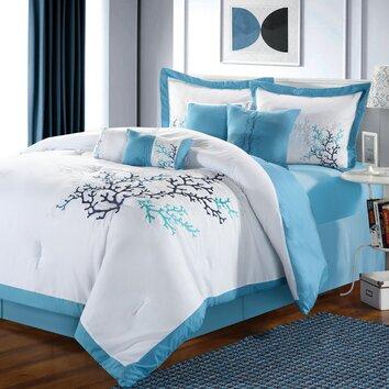 Coral Reef 8 Piece Comforter Set Wayfair