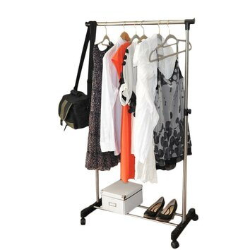hanging clothes rack adjustable garment rack wayfair 10440