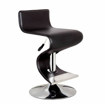 Bromi Design King Adjustable Height Swivel Bar Stool