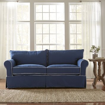 Birch Lane Jameson Sleeper Sofa With Contrast Welt Birch Lane