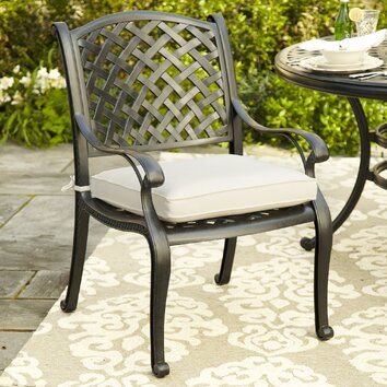 Birch Lane Raven Dining Chair With Sunbrella Cushion
