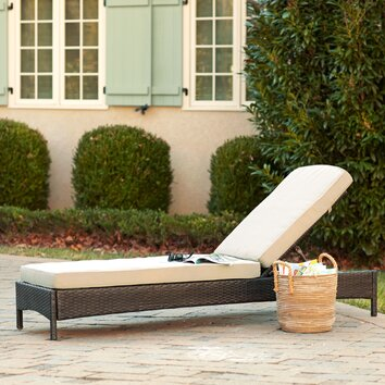 Birch lane delilah chaise birch lane for Breezy beach chaise